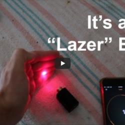 Pluto Trigger: Laser Test